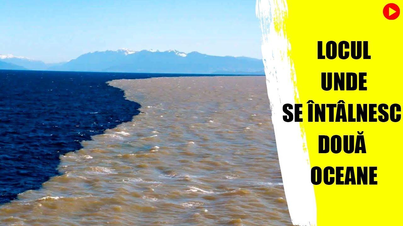 15 locuri unde două ape se întâlnesc, dar nu se amestecă