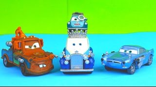 disney pixar cars the queen gets taken by the lemons professor z taco truck mater saves the day