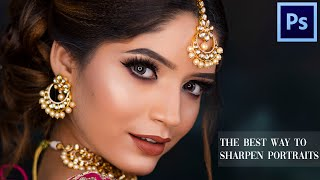 Photoshop Tutorial: How to Sharpen Images In Photoshop ( Quick & Easy )