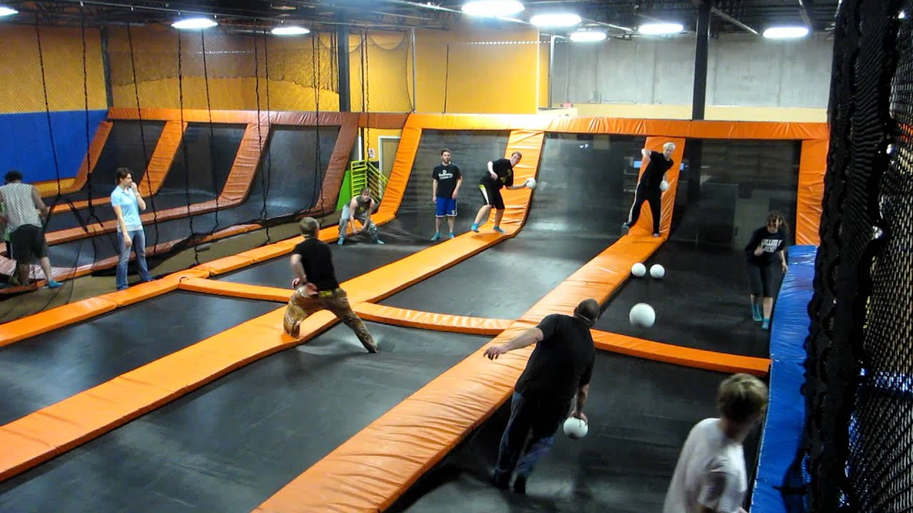 more from our first league at airmaxx trampoline park