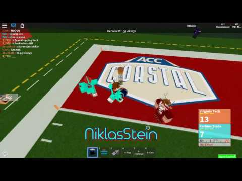 [ROBLOX] ACC Highlights || Atlantic Bowl VII