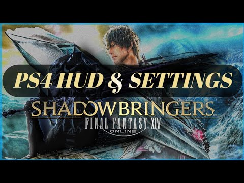PS4 HUD and Settings Guide | Final Fantasy 14 | PS4 & PC