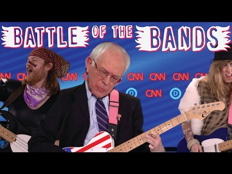 Bernie VS Hillary- Battle of the Bands
