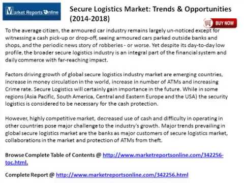 Global Secure Logistics Market Trends & Opportunities