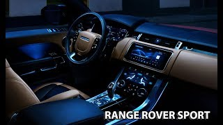 2018 Range Rover Sport INTERIOR / More comfortable than ever