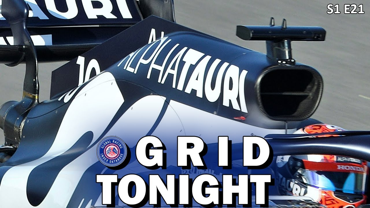 GRID Tonight: Pierre Gasly Road to Redemption
