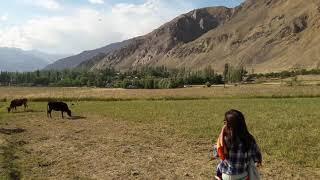 Один из самых красивых кишлак Таджикистана на Памире