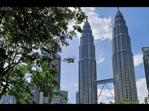 Spacer wśród wieżowców Kuala Lumpur - cz2
