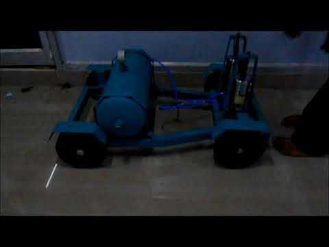 AUTOMOBILE ENGG PROJECT AIR PRODUCTION FROM VEHICLE SUSPENSION HI-TECH RESEARCH FOUNDATION