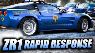 Chevrolet Corvette ZR1 - Rapid Response - Need For Speed Hot Pursuit 2010