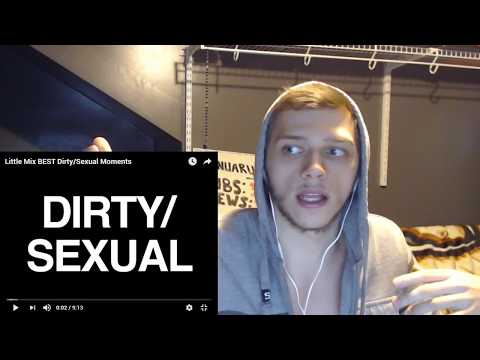 Can't Stop LAUGHING   REACTION   LMAO    Little Mix BEST Dirty/Sexual Moments