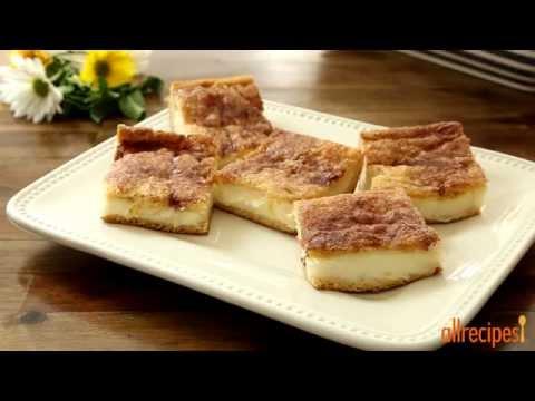How To Make Cream Cheese Squares | Dessert Recipes | Allrecipes.com