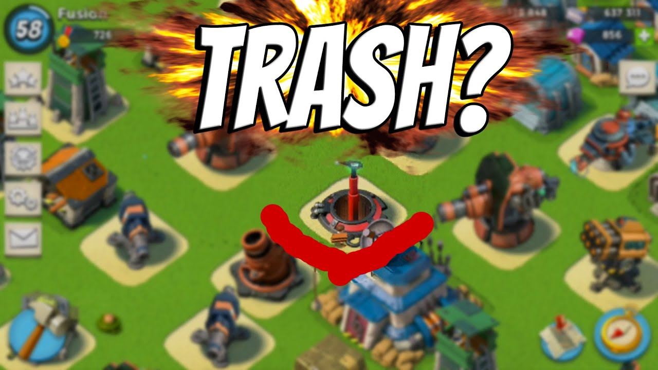 prototype miniseries boom beach iosandroid doom cannon review