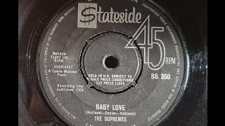 The Supremes 'Baby Love' 1964 45 rpm