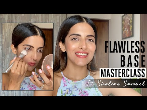 How to get Flawless base | Masterclass with Shalini Samuel