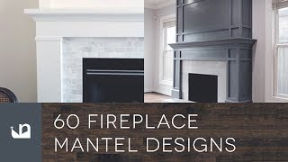 Gambar cover 60 Fireplace Mantel Designs