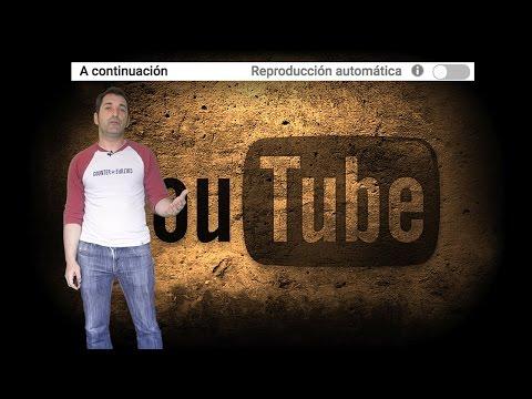 Configurar la reproducción automática en los vídeos de YouTube