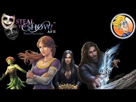 Steal the Show! Act II — game preview at Origins Game Fair 2017