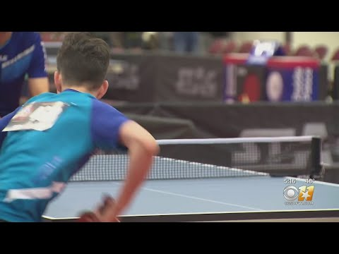 Inside The US Open Table Tennis Championships In Fort Worth