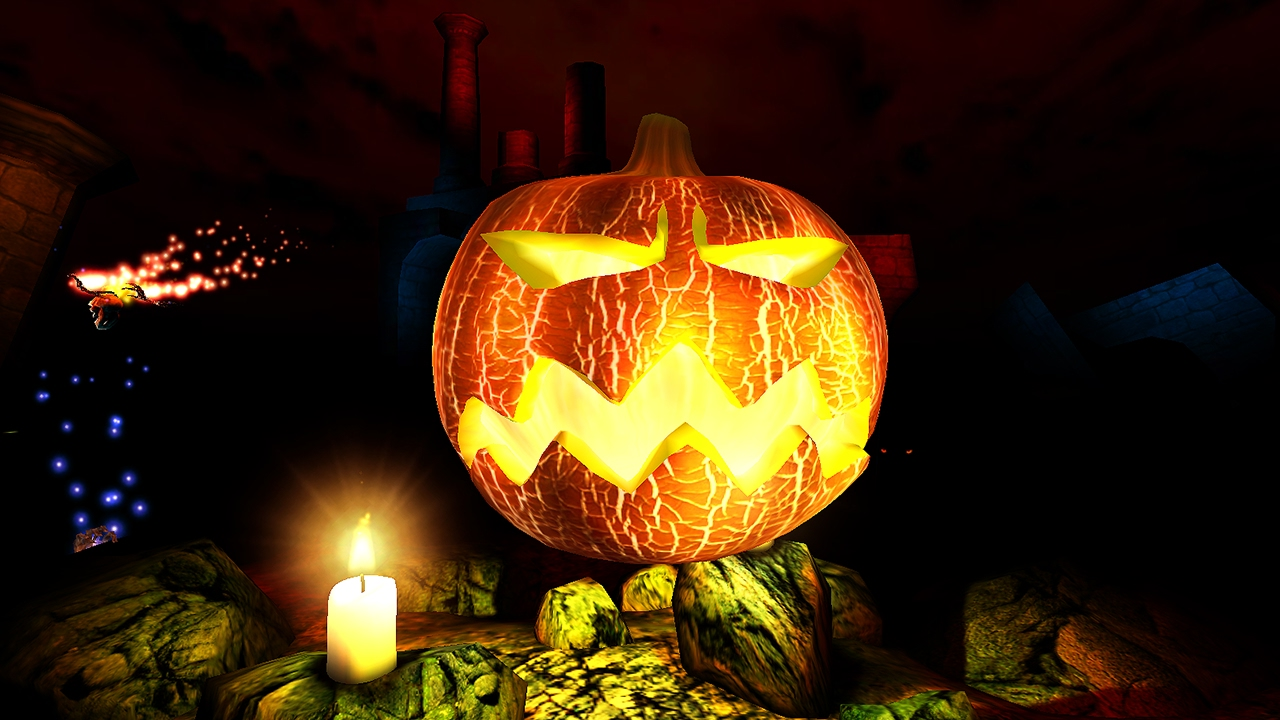 Halloween 3D Screensaver & Live Wallpaper HD - YouTube