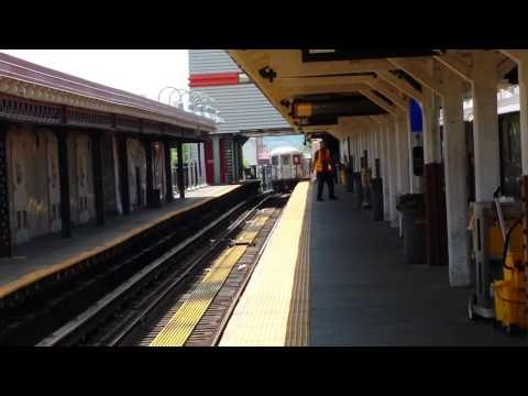IRT Broadway Line: R62/A (1) Train Departing & Entering @ Van Cortlandt Park 242nd Street