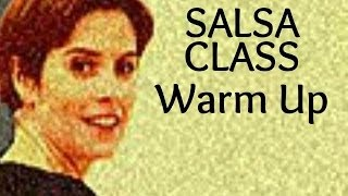 Basic Salsa Dance Class For Beginners - Warm Up 1/22