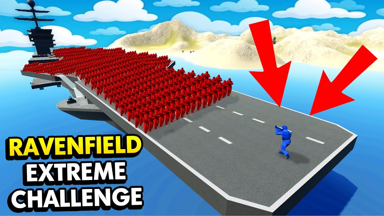1 Unit Extreme Challenge In Ravenfield Ravenfield Funny