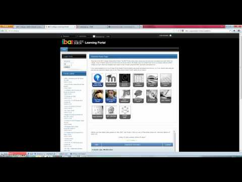 IBAT College Dublin - Accessing Moodle Through Learning Portal
