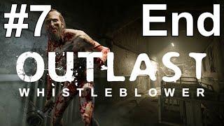Outlast Whistleblower Gameplay Walkthrough Part 7 Ending No Commentary