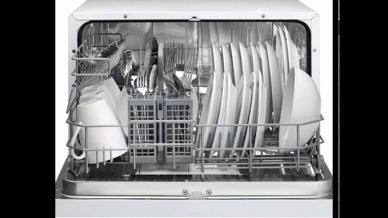 Danby DDW611WLED Countertop Dishwasher - YouTube
