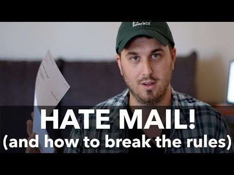 Hate Mail! and why photography rules are meant to be broken