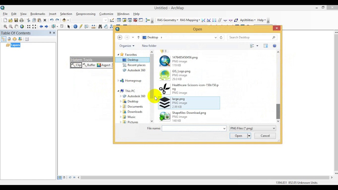 Create Your Toolbar in ArcMAP
