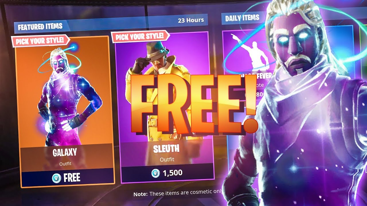 How To Get The Galaxy Skin In Fortnite 100 Free Youtube