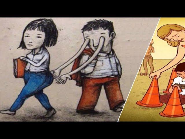 Imagens com significado profundo mostram a triste realidade do mundo de hoje!
