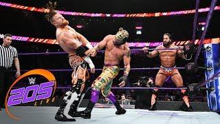 Kalisto & Lince Dorado vs. Tony Nese & Buddy Murphy: WWE 205 Live, Aug. 7, 2018
