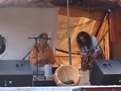 Axel Lecourt au festival de l 'aborigène