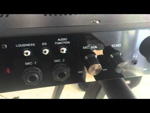 Amplificador Karaoke Bluetooth ATM600BT