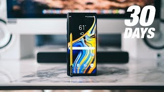 Samsung Galaxy Note 9 REVISITED - One Month Later