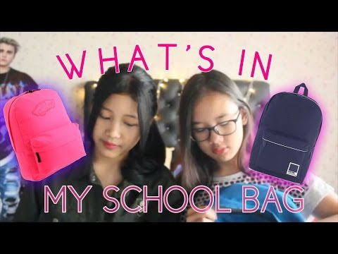 WHAT'S IN MY SCHOOL BAG (SMA) | BAHASA INDONESIA