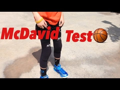 Mcdavid Knee Pad Performance Test Review Trey James Youtube