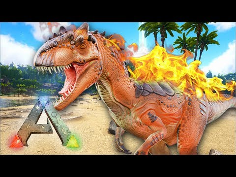 ARK Survival Evolved : ALPHA ALLOSAURUS TAMING! (Ragnarok Gameplay)