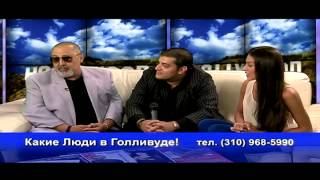 "EXPRESS BAND BY LEON PETROSOV on Russian TV-show ""Какие люди в Голливуде!"""