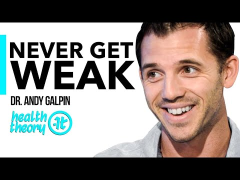 How Technology Can Keep You Weak & Age You Faster | Dr. Andy Galpin on Health Theory