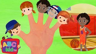 Finger Family Sports Cocomelon ABCkidTV Nursery Rhymes & Kids Songs