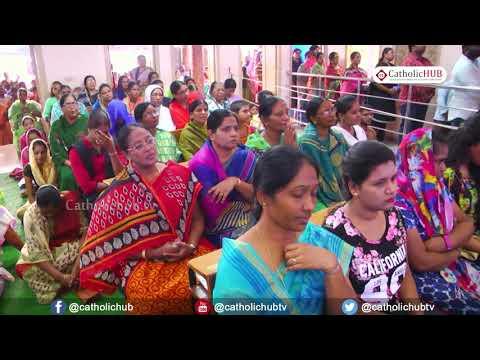 6th Day of Novena of Nine Tuesdays to ST Anthony Padua Telugu Mass 22 05 18