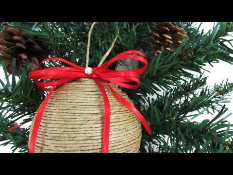 DIY - Christmas Styrofoam Balls!