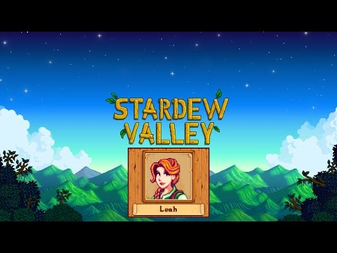 Stardew Valley. Marriage (Leah)