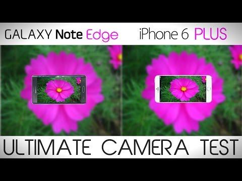 Galaxy Note Edge vs iPhone 6 Plus - Camera Test Comparison