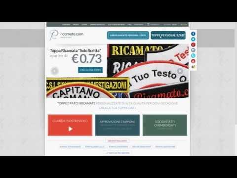Guida su come creare Toppe e Patch ricamate sul sito Ricamato.com from YouTube · Duration:  3 minutes 21 seconds