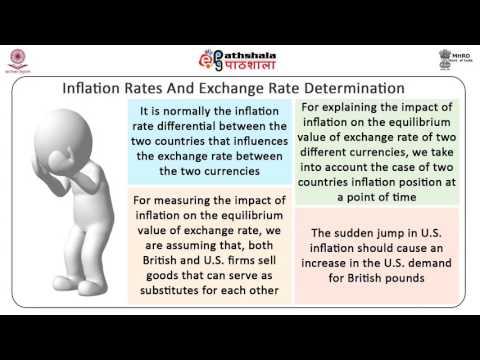 Determination of Exchange Rates (BSE)
